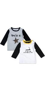 2-Pack Baby T-Shirt Printed