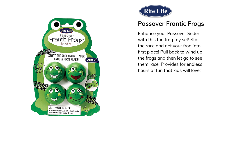 passover frog toys