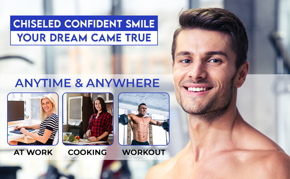 Chisel Confidence Smile Beauty lifter jaws