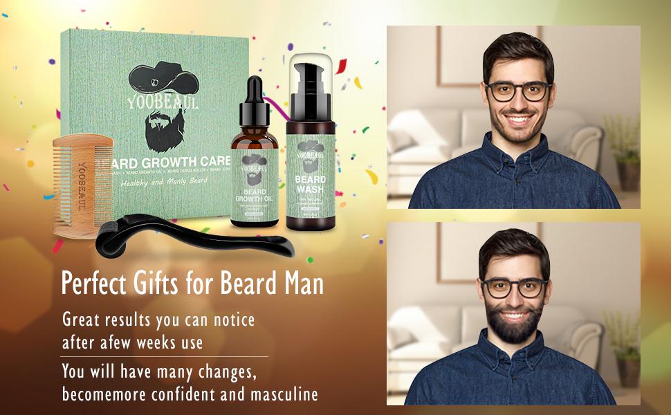 beard growth care kit