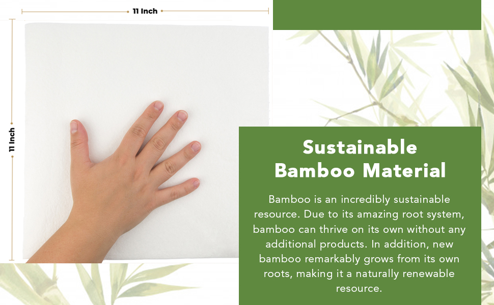 Reusable Bamboo Paper Towel Bamboo Eco kitchen roll Zero Waste Products Product Sustainable 7th gen