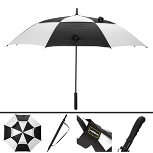 60inch 68inch 80inch black whtie golf umbrella