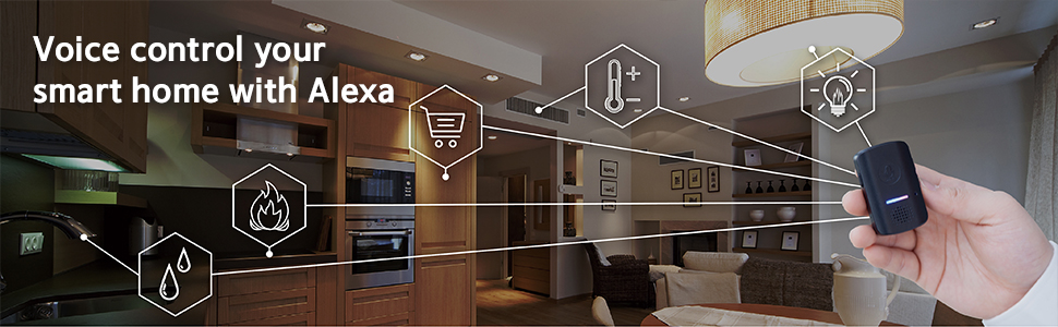 Voice control your smart home with Alexa