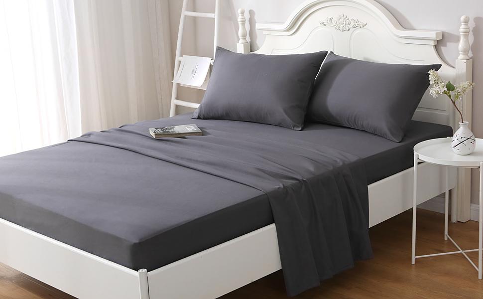 4 pieces bed set
