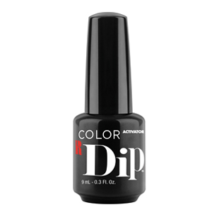 red carpet manicure, color dip, activator