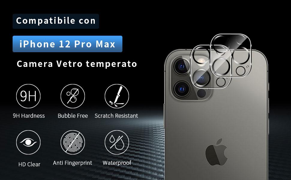 iPhone 12 PRO Max Camera Vetro temperat