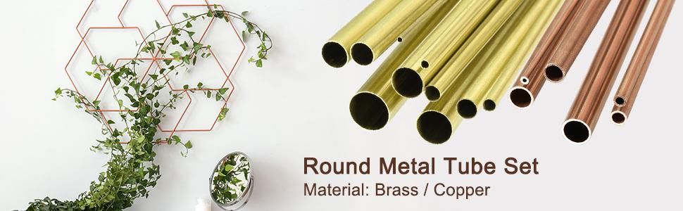 5 Pcs Solid Brass  6x20  mm Bolo Tips Cord End \u0130nside Diameter 4.5 mm