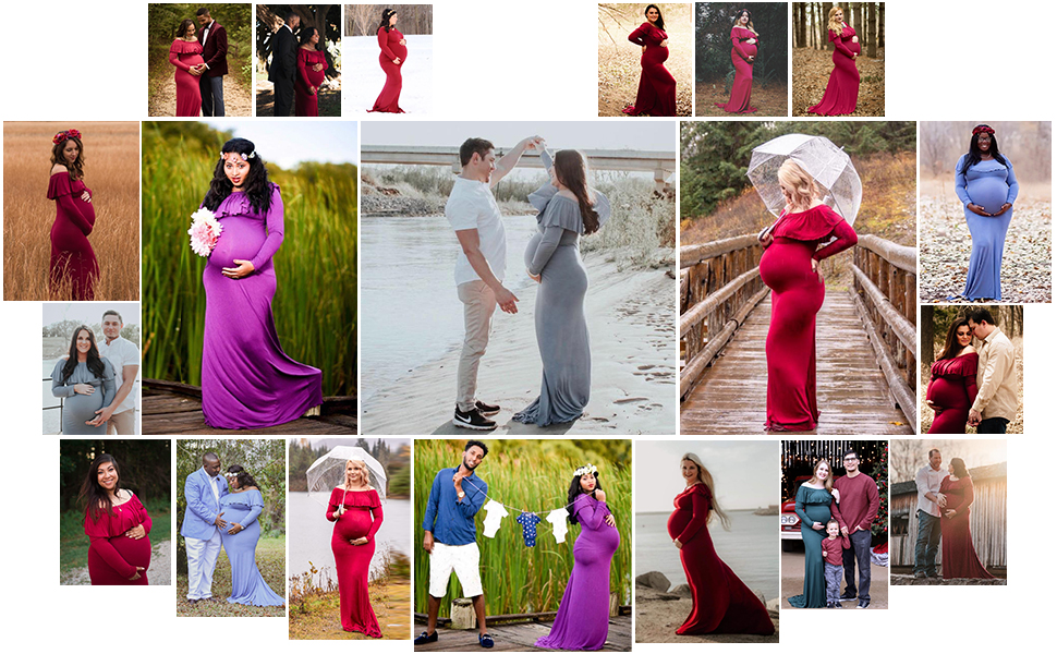 maternity dress for photoshoot plus size