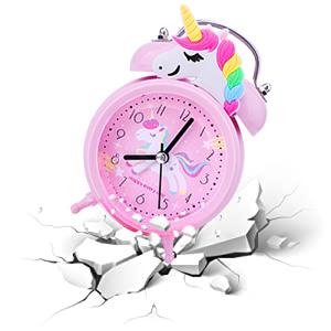 Unicorn alarm clock for girls