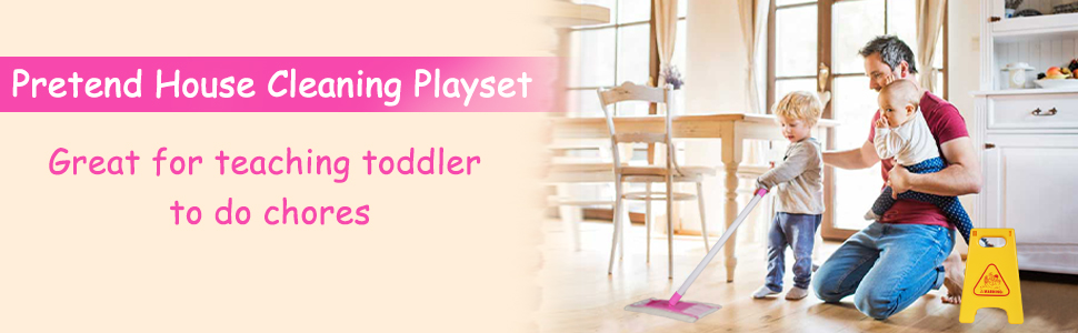 house cleaning playset