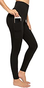 Leggings Sportivi Donna con Due Tasche