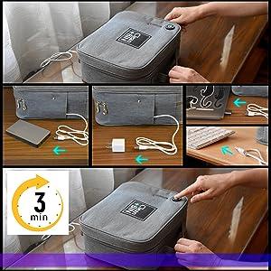uv light sanitizer uvc sterilizer shutoff cleaner sanitizing ultraviolet box phone portable uv-c