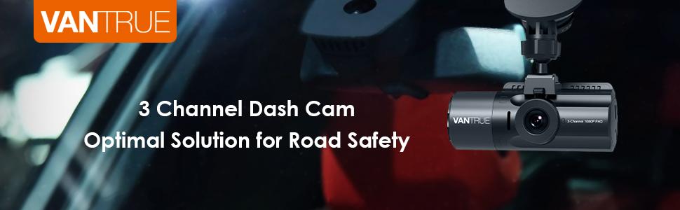 3 channel dash cam