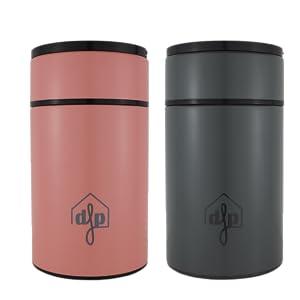 Pink & Grey Flask