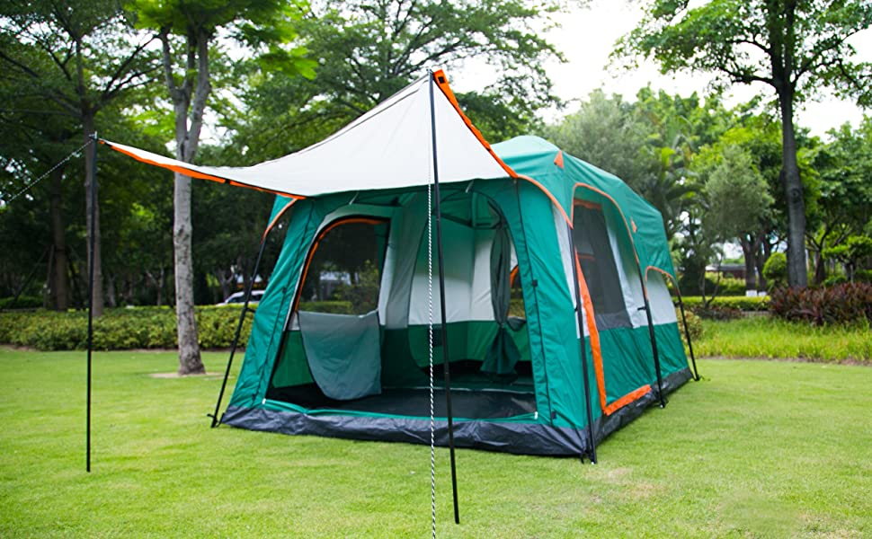 10 Person camping tent