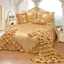 wedding set in gold