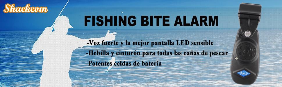 Sensible Alarma Pesca picada