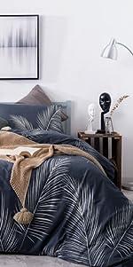 palm leaves comforter
