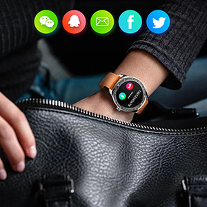 smart watch  Smart Watch, Fitness Tracker with Heart Rate Monitor, IP68 Waterproof Smartwatch 1.3″ Touch Screen, Activity Tracker Step Counter Sleep Monitor Message Call Pedometer for Women and Men 5f2525fa 199c 49bb 8710 8332c553bf3e