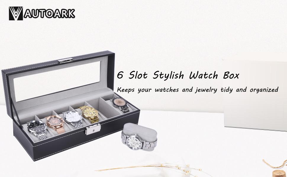 Watch Case Watch Organizer Watch Stroage Watch Box Jewelry Organizer Jewelry Stroage Jewelry Box