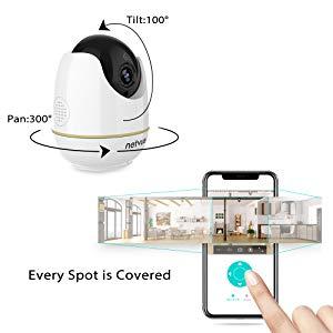 pet camera 2pack NETVUE camera indoor security camera indoor camera