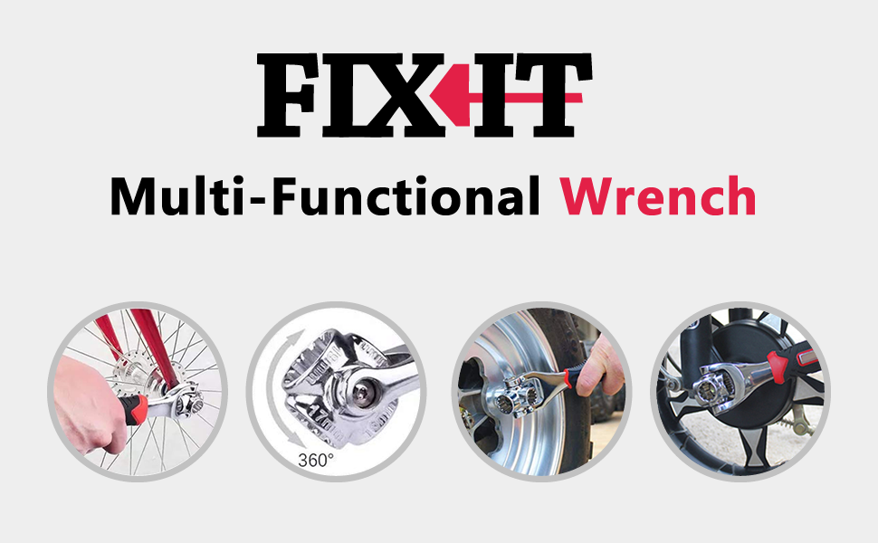 Multi-Functional Wrench
