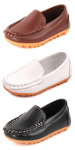 Kids Boys Girls Loafers