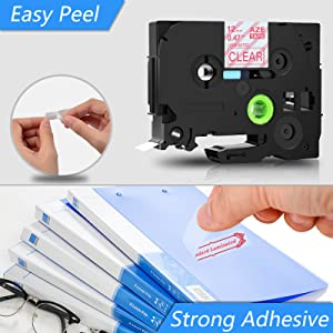 Easy Peel and Strong Adhesive
