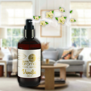 vainilla, aromatizante, room spray, casa, spa