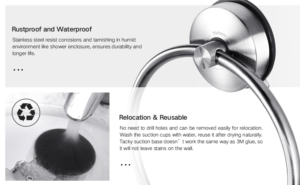 Durable and Reusable Towel Ring
