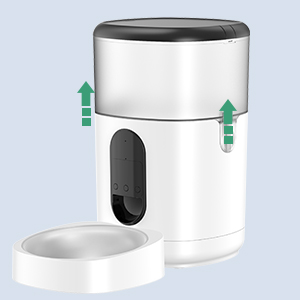 easy to install Dog Food Dispenser
