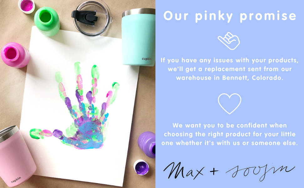 our pinky promise