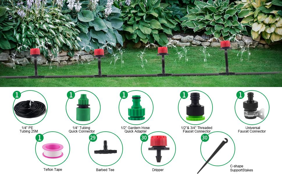 Garden Irrigation Accessories