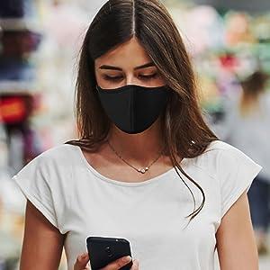 copper compression face mask masks