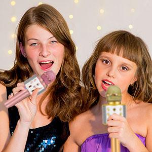 kids karaoke microphone