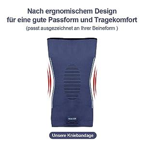 Mit dem ergonomischen Design