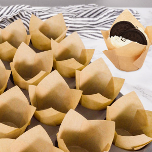 parchment paper cupcake liners