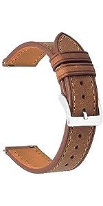Italia Pueblo Top Grain Leather Watch Straps