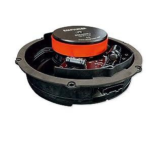 Lautsprecher-Boxen, Komponentensystem, einfacher Einbau im Volkswagen T6, Bulli