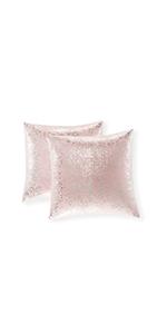 pink plush pillow cover striped square pillow plush pink decorative pillows lavender bench cushion