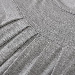 latuza women bamboo viscose pajamas set long sleeves
