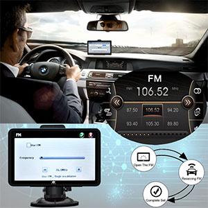 FM transmitter Transfer the GPS Sound to Car