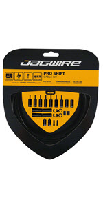 Jagwire Pro 2x Shift Cable Kit DIY Road Gravel Mtn Mountain Bike Cables Housing