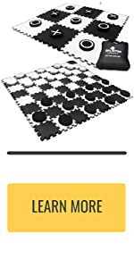 giant checkers and tic tac toe game
