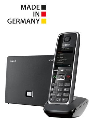 Gigaset cordless phone C530IP Voip SIP premium