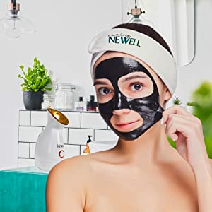 soft towel headband facial unclog pores nano ionic facial steamer facr mask acne vitamins steam room