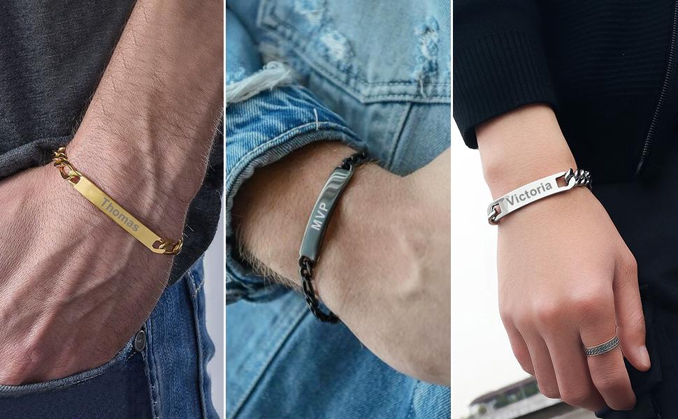 custom bracelet for men
