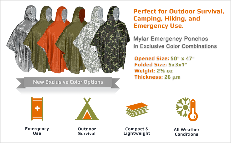 Perfect for outdoor survival, camping, hiking, and emergency first aid.