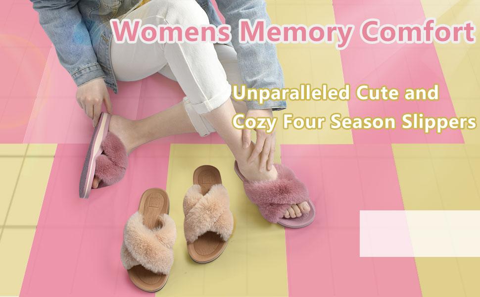 Womens slides slippers