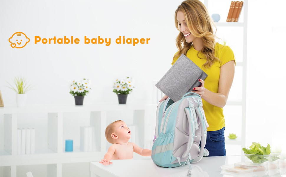 portable baby diaper